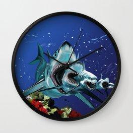 Sharkioska Wall Clock