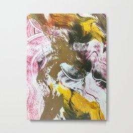 monoprint #2 Metal Print