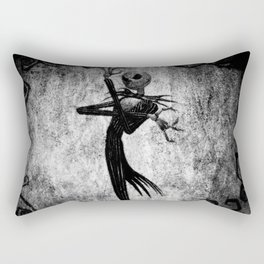 Jack Art Style Rectangular Pillow