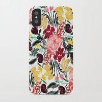 garden iPhone & iPod Cases featuring Wild Garden II by Bouffants and Broken Hearts