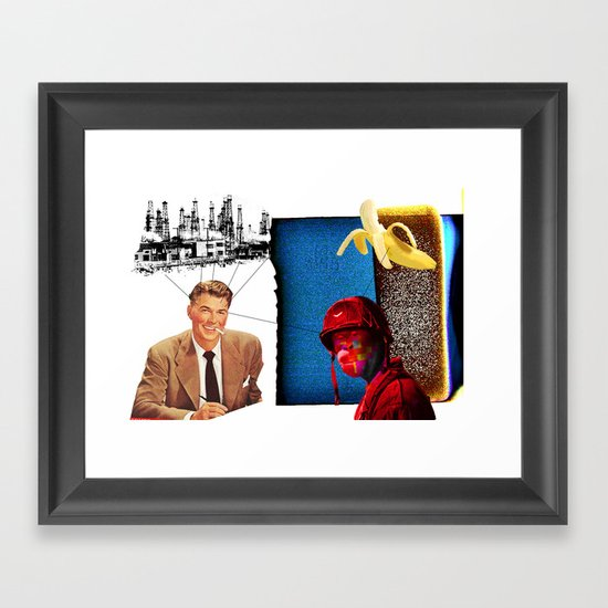RONALD Framed Art Print