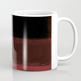 1958 Four Darks on Red by Mark Rothko Coffee Mug