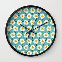 Daisy Unicorns Wall Clock