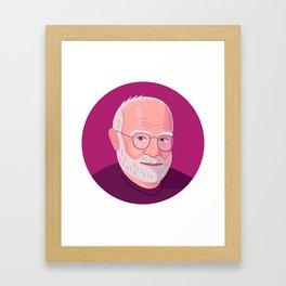 Queer Portrait - Oliver Sacks Framed Art Print
