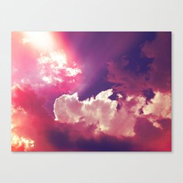 Pink Skies Canvas Print