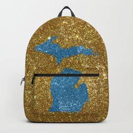 Michigan glitter Backpack
