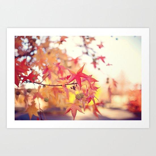 Forever Fall  Art Print