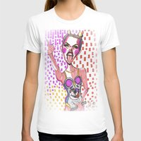 miley T-shirts featuring Miley Cyrus by Lauren Gasperlin