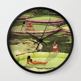 Valley of the Lily Wall Clock