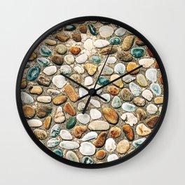 Pebble Rock Flooring VI Wall Clock