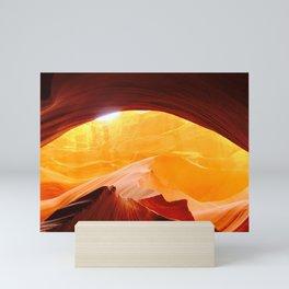 Sunrise in Antelope Canyon Mini Art Print