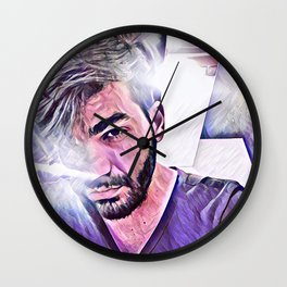 Latin Boy Wall Clock