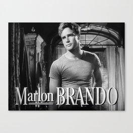 Marlon Brando, 1951 Canvas Print