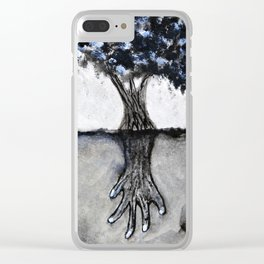 By the Roots Clear iPhone Case