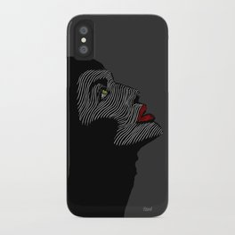 Malificent Lines iPhone Case