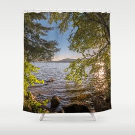 Secret Place By The Lake Shower Curtain