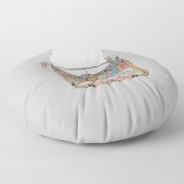I DON'T KNOW WHAT TO WRITE YOU Floor Pillow
