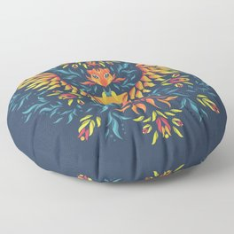 Phoenix Rising Floor Pillow