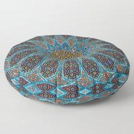 Blue Tiles Floor Pillow