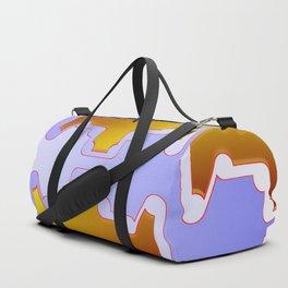 Copper plates pattern Duffle Bag