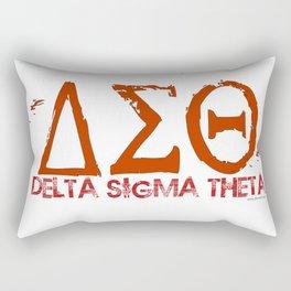 Delta Sigma Theta Rectangular Pillow