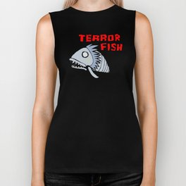 Terror fish Biker Tank