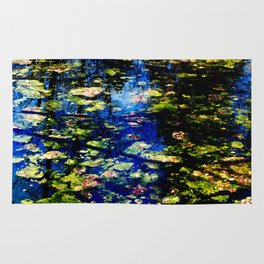 Water is the Color of Life Rug