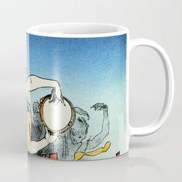 The ballerina lover 1888 by Chéret Coffee Mug