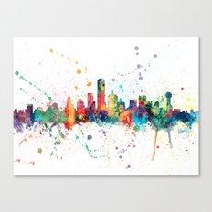 Dallas Texas Skyline Canvas Print