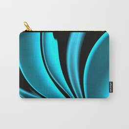 Abstract Fractal Colorways 02 Pacific Blue Carry-All Pouch