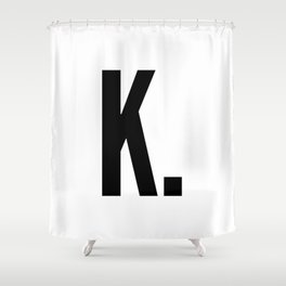 K. Shower Curtain
