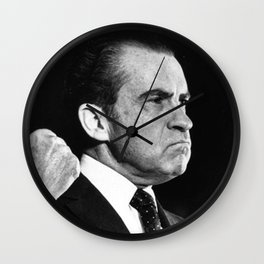 Richard Nixon Mad Wall Clock