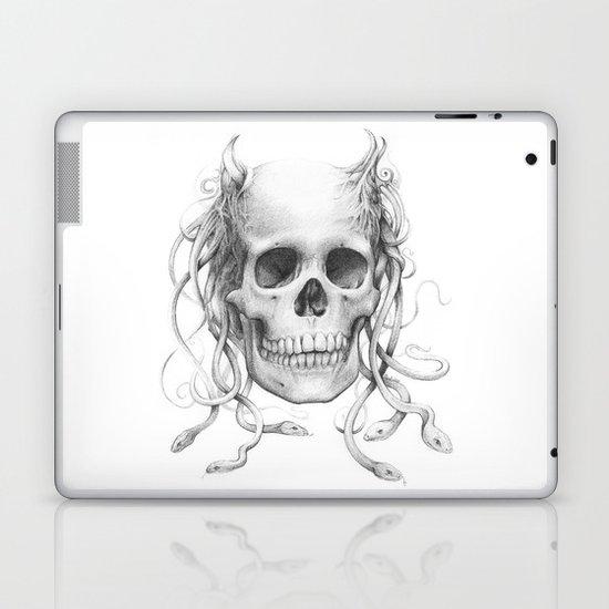 Medusa Skull Laptop & iPad Skin