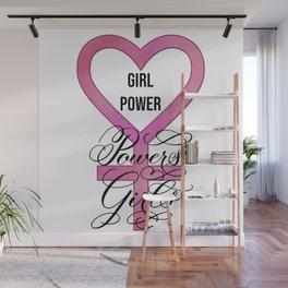 Girl Power Powers Girls Wall Mural