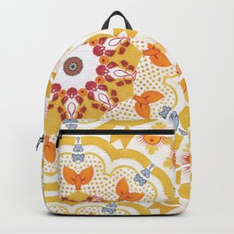 Mermaid tail mandala Backpack