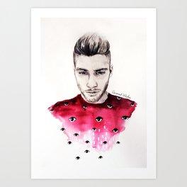 Eyes on Zayn  Art Print
