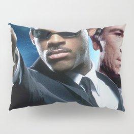 Man In Black Gun Pillow Sham