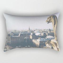 Protecting Paris Rectangular Pillow
