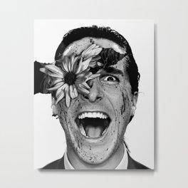 Psycho Flower Metal Print