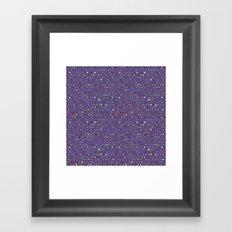 asteroid spot Framed Art Print