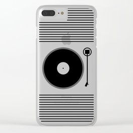 gramofon Clear iPhone Case