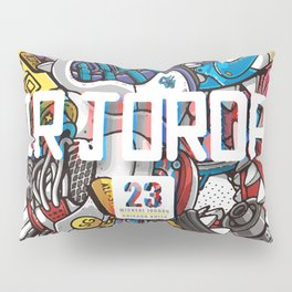 Jordan Sneaker Pattern illustration Pillow Sham