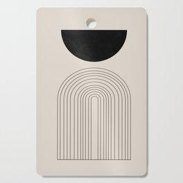 Arch, geometric modern art Cutting Board