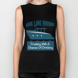 Week Long Forecast Cruising With A Chance Of Drinking Biker Tank