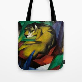"Franz Marc ""The Tiger"" Tote Bag"