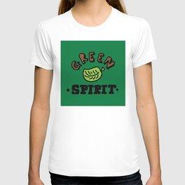 green spirit T-shirt