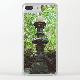 Bryant Park Clear iPhone Case