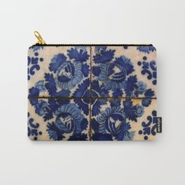 Blue old portuguese tile Carry-All Pouch