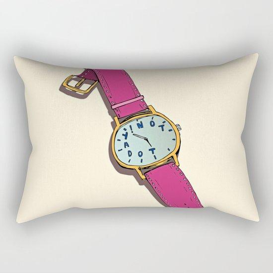 Not Today Rectangular Pillow