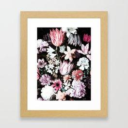 Flora Gothica Framed Art Print